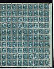 US MINT SHEET SCOTT#826,21C STAMP CHESTER ARTHUR  SHEET OF 100 MNH OG