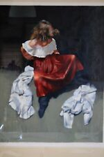 "ROBERT LENKIEWICZ SIGNED LIMITED EDITION  PRINT ""PAINTER WITH WOMEN"" 30/195"