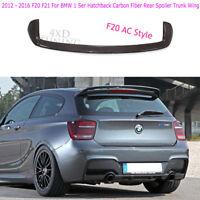 2012 - 2016 F20 F21 For BMW 1 Ser Hatchback Carbon Fiber Rear Spoiler Trunk Wing
