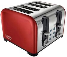 NEW RUSSEL HOBBS Westminster 1500W 4-Slice Toaster In Red BOXED - Z03