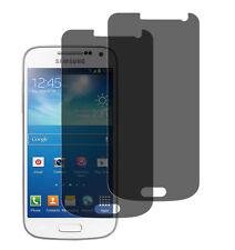 2 x Blickschutzfolie Samsung Galaxy S4 Mini Privacy Displayschutz Folie Antisp