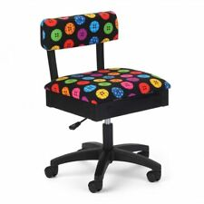 BRIGHT BUTTONS HYDRAULIC SEWING CHAIR