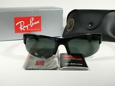 Authentic Ray-Ban Active Lifestyle Sunglasses RB4173 Sport Wrap Black Green Lens