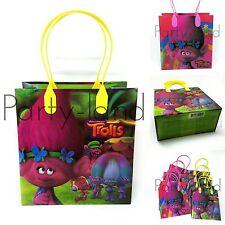 24 Pcs TROLLS DreamWorks LOOT/GOODY BAGS Birthday Child