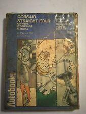 FORD CORSAIR + CORSAIR GT STRAIGHT FOUR AUTOBOOKS WORKSHOP MANUAL 1963-1965