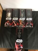 Lot of Five 2015 Star Wars Figures Kylo Ren Darth Vader Fifth Brother Finn