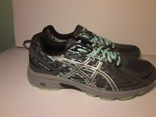ASICS T7G7Q 9793 WOMEN'S GEL VENTURE 6 WIDE (D) GREY/GREEN us sz 11.5
