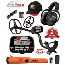 Garrett At Max Metal Detector Bundle Package with Free Z-Lynk Pro Pointer At New