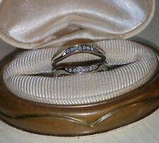 guard for engagement wide cz pave Ross Simons Sterling silver ring enhancer