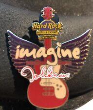 Hard Rock Cafe *Punta Cana Hotel* John Lennon Imagine Winged Guitar Pin L Ed 100