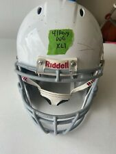 Riddell Revo Youth XL Football Helmet (White with Gray Face Mask)