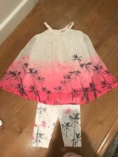 Girls 3 Pommes Leggings And Top Age 3-4