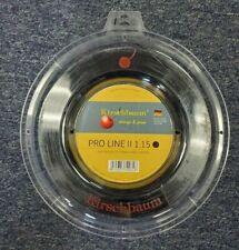 Kirschbaum Pro Line II 17L Gauge 1.20mm 660' 200m Tennis String Reel Black