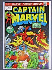 Captain Marvel #27 1st App Eros Starfox 2nd Drax Marvel 1973