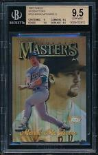 1997 Finest MARK McGWIRE Gold Refractor *A's* BGS 9.5