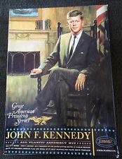 1965 John F. Kennedy JFK Aurora Plastic kit Great American Presidents w/ Box