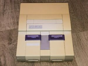 Super Nintendo Console Only Snes System SNS-001 Works Great Replacement