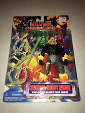 "1996 Marvel Universe Original Ghost Rider 5"" Action Figure Vintage Toybiz New"