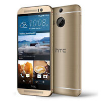 """Gold Smartphone HTC One M9 T-Mobile GSM 4G LTE 32GB 5.0"""" UNLOCKED 20MP Phone"""