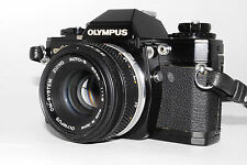 """Exc+"" Olympus Om-10 35mm Slr Film Camera w/ Lens Zuiko Auto-S 50mm f1.8 *111"