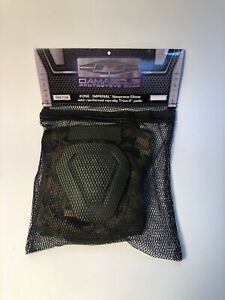 Military Camo Elbow Pads Damascus DNEPDW Imperial Neoprene Non slip TrionX