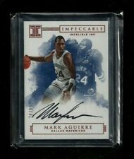 Mark Aguirre Impeccable INDELIBLE INK Auto #/99 Rare! ON-CARD! Dallas Mavericks!