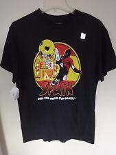 NWT Genuine FIFA 2014 - Spain - World Cup Soccer T-Shirt Size Mens Medium