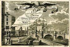Incorniciato stampa-VINTAGE Carta commerciale di diritto Goldsmith watch maker (PICTURE POSTER)