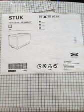 "IKEA STUK Storage Case tartan Organis Multiuse Warderobe 34*51*28 cm 13.5*20*11"""