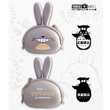 Studio Ghibli My Neighbor Totoro Cartoon Silicone Key Holder Coin Purse Case Bag