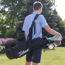 Titleist Sunday Golf Carry Bag Black/Black