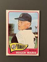 1965 Topps #155 Roger Maris EXMT New York Yankees