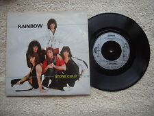 "RAINBOW STONE COLD POLYDOR RECORDS UK 7"" VINYL SINGLE in PICTURE SLEEVE"