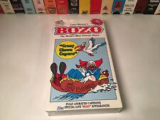Bozo, The World's Most Famous Clown: Crazy Clown Capers New VHS 1991 Animation