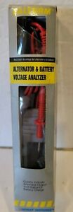 Calterm 66318 Alternator Battery Voltage Analyzer in Box With Instructions