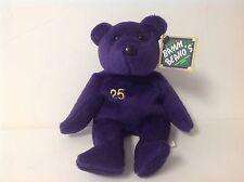 Salvino's Bamm Beano's Mark McGwire # 25 Beanie Bear. Issue date: August 1998