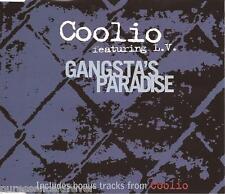 COOLIO ft L.V. - Gangsta's Paradise (UK 4 Trk CD Single Pt 1)