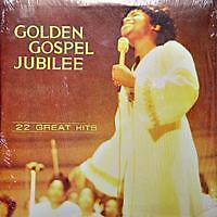 GOLDEN GOSPEL JUBILEE 22 Great Hits US Press 2 LP