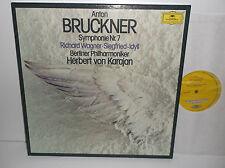 2707 102 Bruckner Symphony No.7 & Wagner Siegfried-Idyll Von Karajan 2LP Box Set