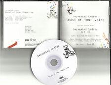 BARENAKED LADIES Sound of your Voice 2006 USA PROMO Radio DJ CD Single MINT