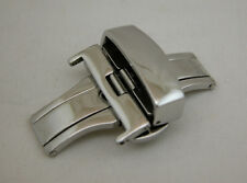 22MM Deployment Buckle Double Clasp POLISHED Stainless Steel