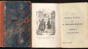 Commedie scelte di Carlo Goldoni (1856 - 1858 - 16 Bände Werke )