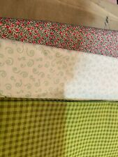 New listing Fabric Lot Sewing / Quilting Green Lot- New!