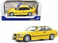 1:18 1994 BMW E36 Coupe M3 -- Jaune Dakar Yellow -- Solido
