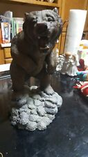 Living Stone Grizzly heavy statue 9 1/2 inches tall