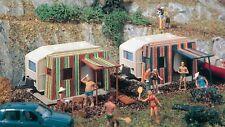 Vollmer 45145 Campingwagen 2 Stück