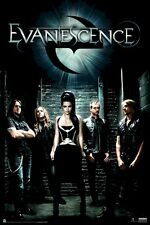 Evanescence ~ Alley Group 24x36 Music Poster Amy Lee New/Rolled!