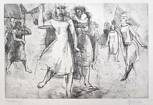 "Schubert, Wolfram(1926 Körbitz, lebt in Potzlow/Uckermark)""Frauen-Demonstration"""