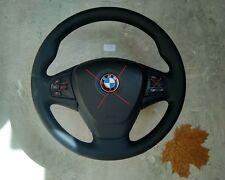 BMW X3 F25 X4 F26 X5 F15 X6 F16 NAPPA LEATHER HEATED STEERING WHEEL THICK SOFT
