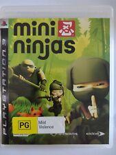 Mini Ninjas - Playstation 3 PS3 - fast free post